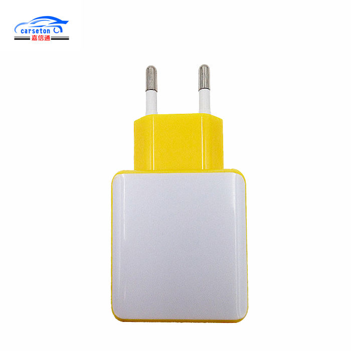 Universele Dual Port Draagbare Mobiele Telefoon Laptop USB Power adapter voor Android iPhone iPad