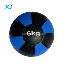 6 KG Durable Rubber Medicine Smash Wall Ball / 2 Tone Color