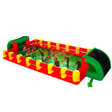 ZZPL Best game ever inflatable human foosball Super fun inflatable foosball game for sale New design inflatable sports game