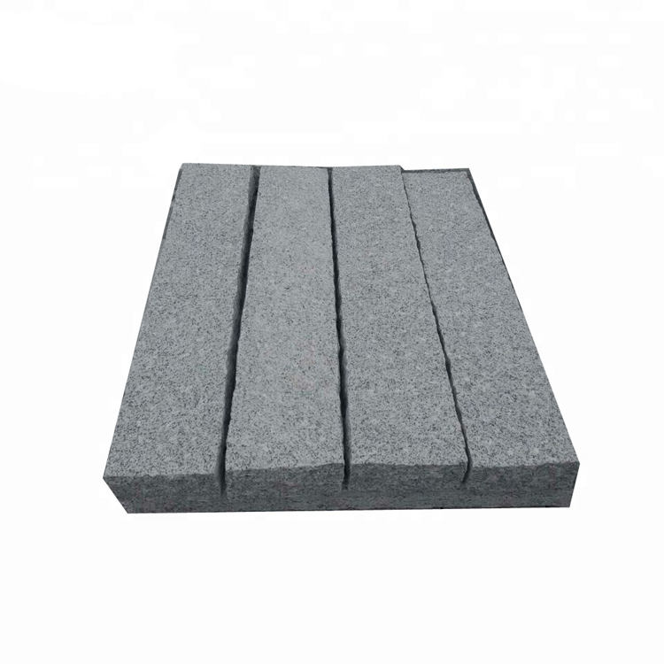 Driveway Flamed Grey Granite Paving Stone Outdoor for Sale,Belgium block