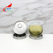 smartbud weed cans 100ml 3.5gram self seal can press tin food grade tin can MC-309C