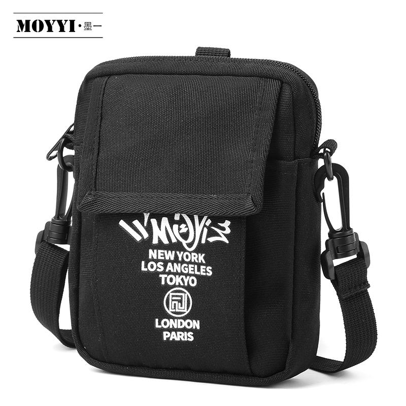 Moyyi Mode Kleine Heren Schouder Sling Bag Mini Crossbody Telefoon Tas Handtas Messenger Bag