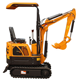 Trench Digger micro excavator xn08 0.8 ton mini excavator for digging