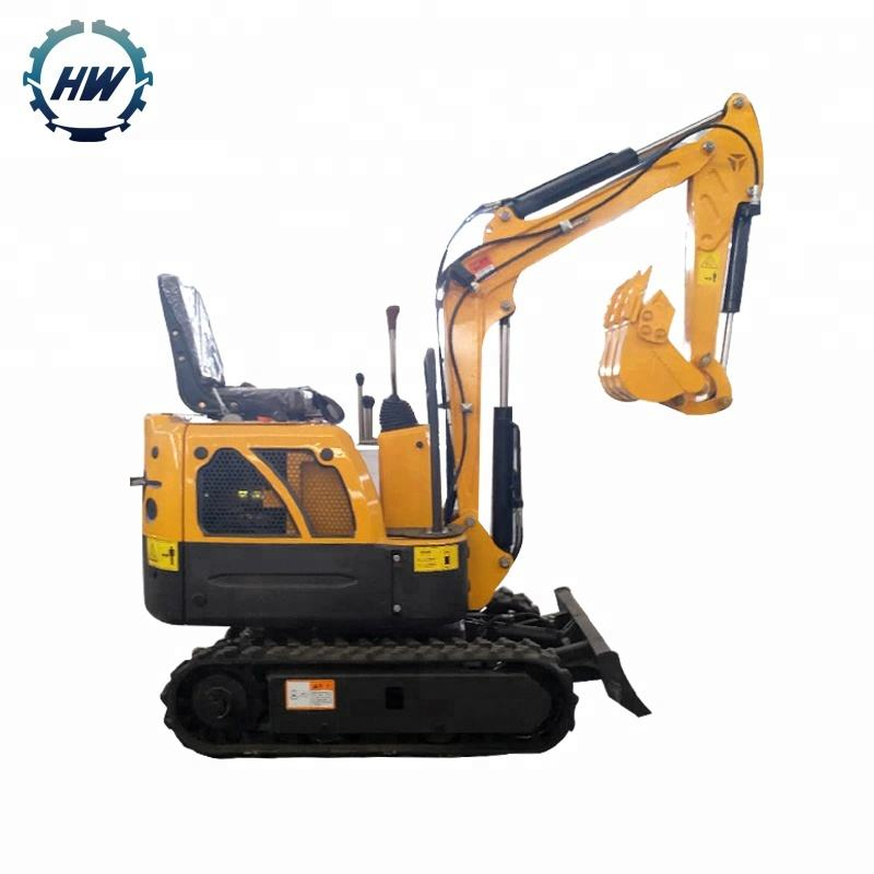 Agricultural mini ground digging machine