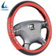 Red best-selling four seasons PU leather PVC car steering wheel cover