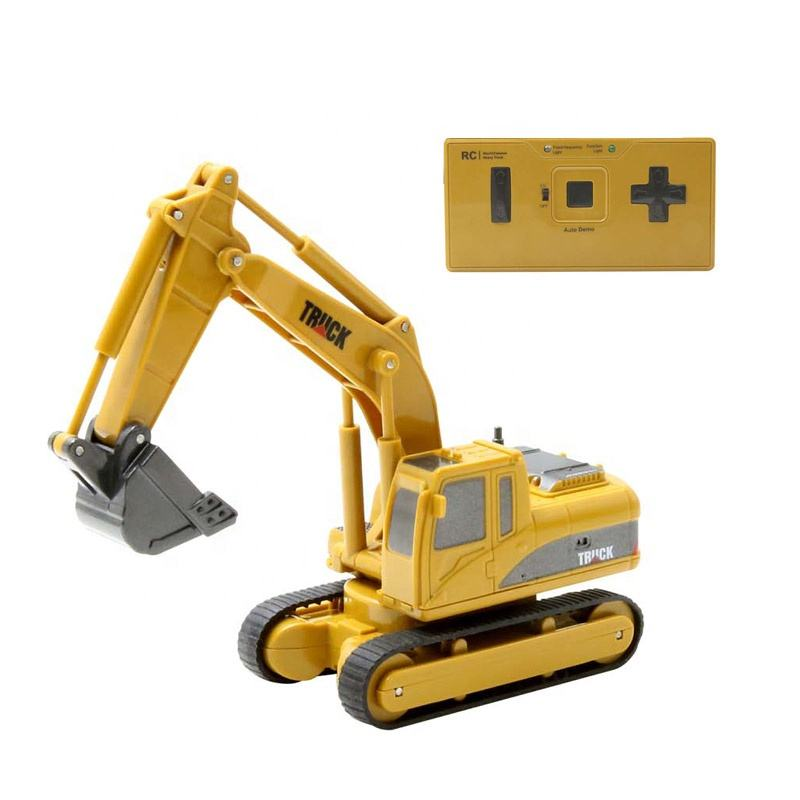 2019 super engineering construction remote control excavator truck toy can rotation
