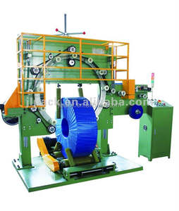 Fully auto steel coil packing machine coil wrapping machine