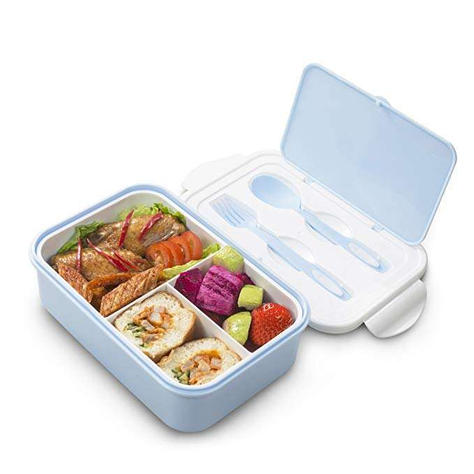 Food Containers Approved BPA Free Custom Logo Packaging Bento Lunch Box Leakproof For Adults and Kids
