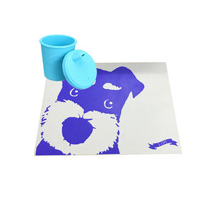 제조업체 custom BPA free 실리콘 place mat anti-열 표 mat easy to clean 플레이스