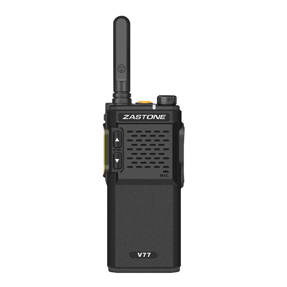 Hot Seller High Quality Best Price Repeater two way radio Zastone V77 uhf mini military walki talki uhf