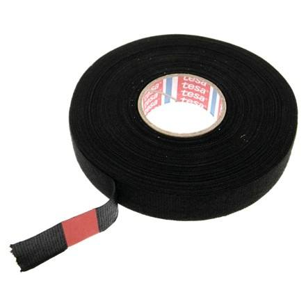 Tesa Triple A 51036 Flag-resistant PET Cloth Tape for High Abrasion Protection of Automotive Harnesses