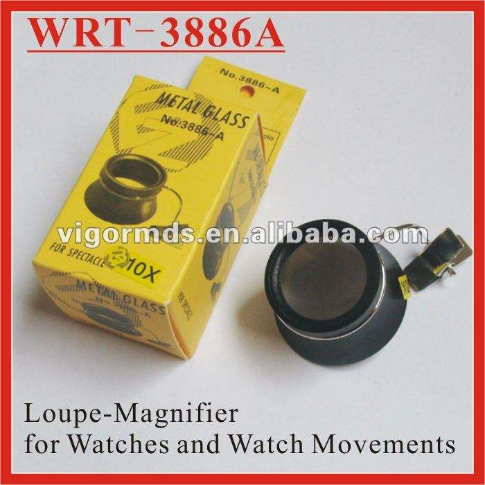 (WRT-3886A) Eye Glass Loupes and Magnifiers with Clamp for Watch