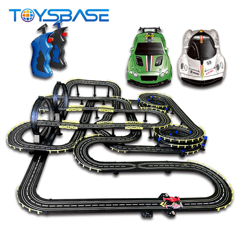 Battery Operated Wholesale Electric Racing Track 1/32 Slot Car