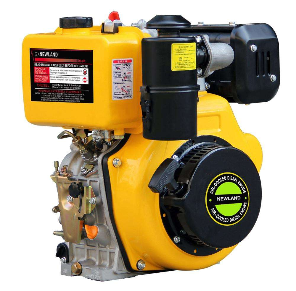 4-Stroke Single Cylinder Air Cooled Portable Inboard Boat Easily Taken Diesel Engine Model For Sale