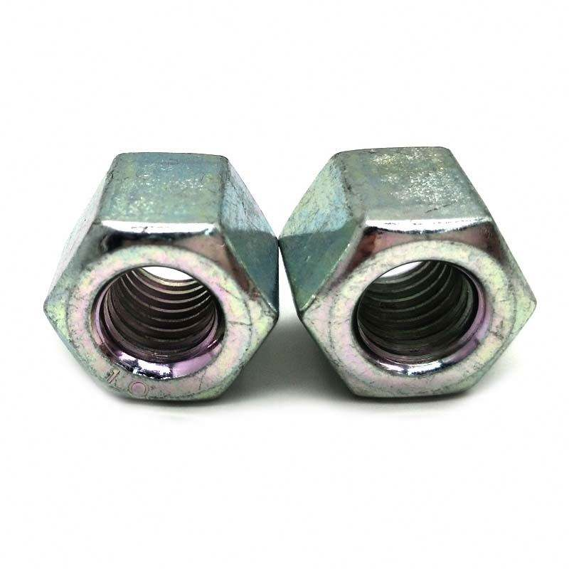 China manufacture galvanized carbon steel din934 hex nut