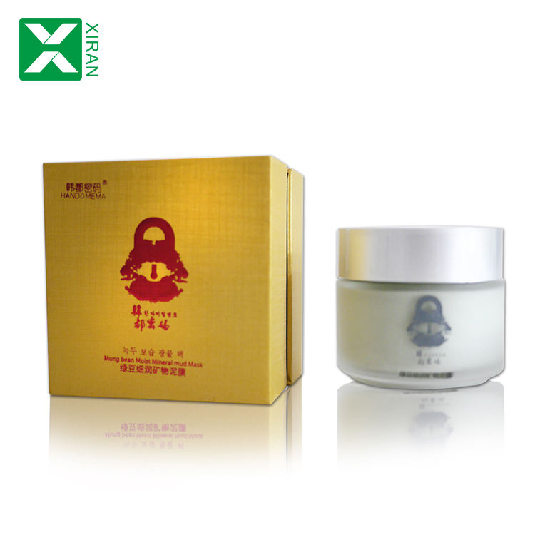 Hot Selling Natural Mud Face Mask Private label Mung Bean Moisturizer Mineral Mud Mask