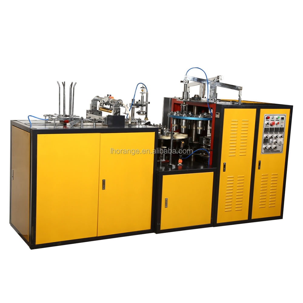 paper cup making machine / paper cup forming machine / disposable paper cup machine