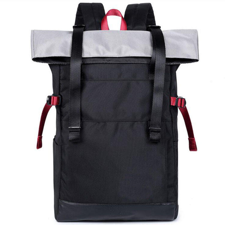 Customized Waterproof Casual Folding Nylon Laptop Backpack Bag Computer Backpack