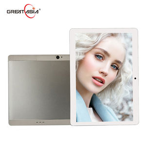 10.1 inch mediatek android tablet 1920*1200 IPS android 7.0 quad core tablet pc, 10 inch 5G wifi tekening robuuste tablet