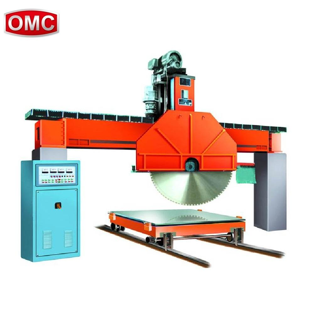 OMC-QQ Industrial Stone Block Bridge Saw Machine Used to Cut Granite