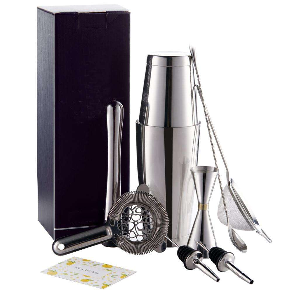 Premium stainless steel cocktail set Amazon top seller 2019