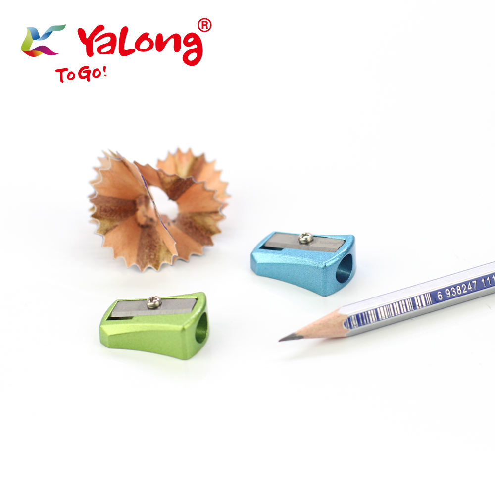 yl96188 professional manual zine-alloy metal pencil sharpener