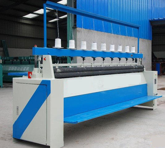 Full automatic quilting machine multi needle quilting sewing machine with the length of the quilt is not limited