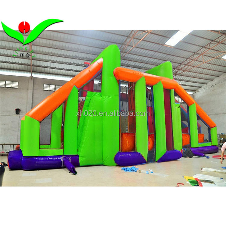 The kids and adult challeage large inflatable game in 2018