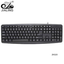High quality black 104-key waterproof custom computer keyboard with number pad