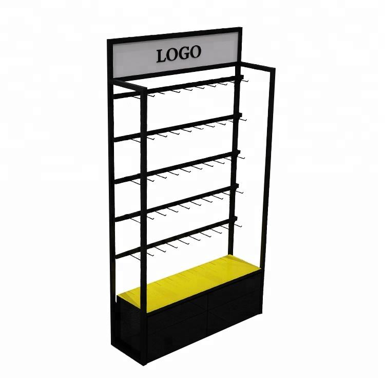 Clothing Store Shelves Custom Design High Quality Factory Price Shop Socks Gloves Display Rack