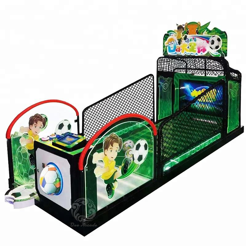 Yonee new stylish coin operated Go Go Soccer Indoor tickets redemption football arcade game machine