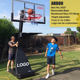 Height Adjustable Movable Portable Basketball Stand/System/Hoop/Goal/Equipment for Basketball Sports
