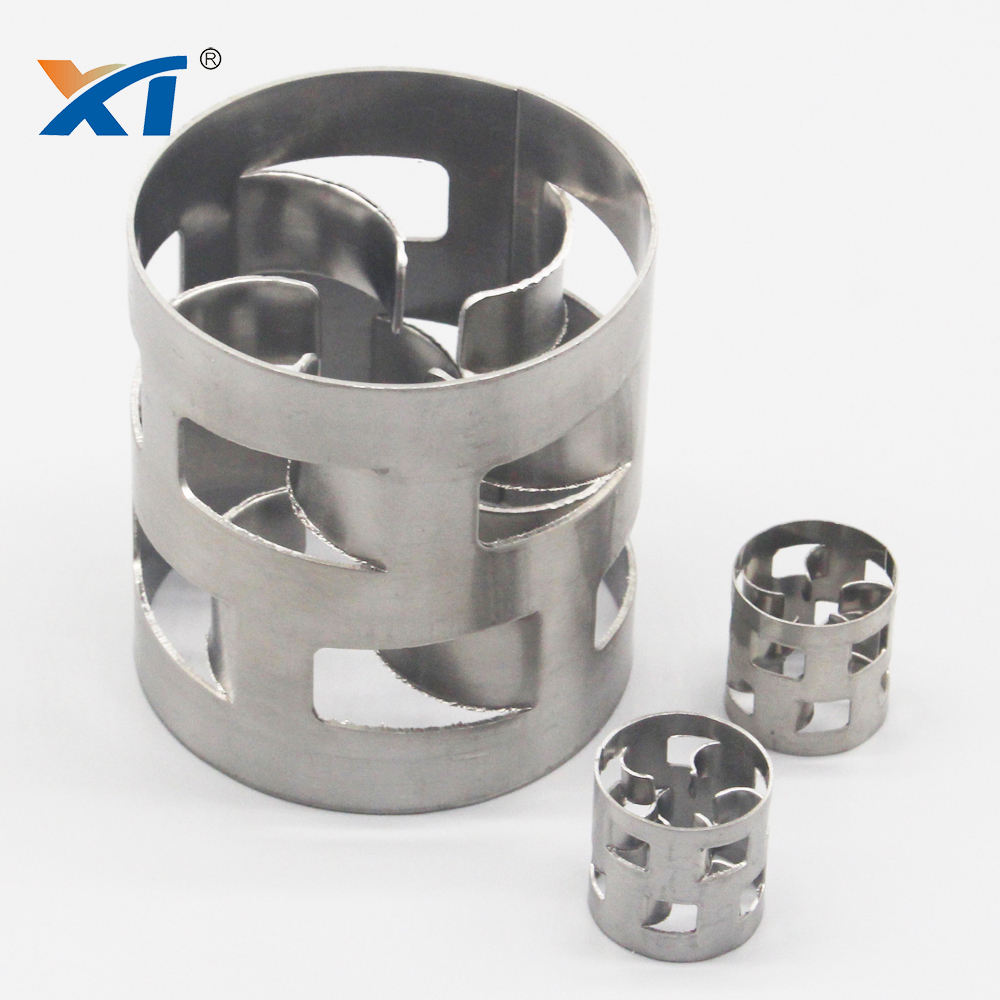 XINTAO stainless steel 2205 SS316l metal pall ring as metal random packings