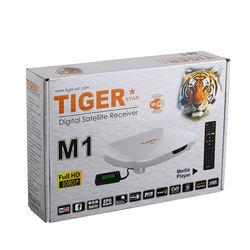 Tiger star M1 digital satellite receiver full hd 1080p dvb s2 digital satellite receiver support 3G
