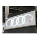 China Outdoor Sign Cheap Customized Vacuum Acrylic Sign LED Backlit Car Logo Sign