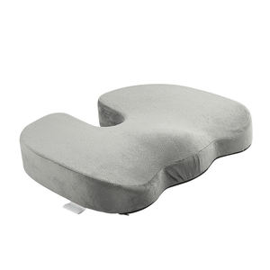 Washable Anti Slip Hemorrhoid Pillow Airplane Wheelchair Luxury Bus Memory Foam Coccyx Orthopedic Seat Cushion