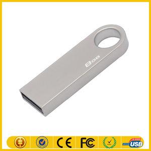logo gratuito di massa di metallo 1gb flash drive usb