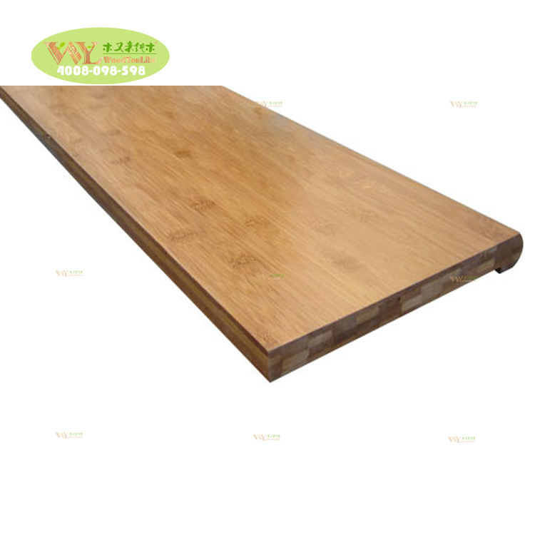 Unfinished Horizontal Bamboo Panel Bamboo Table Top