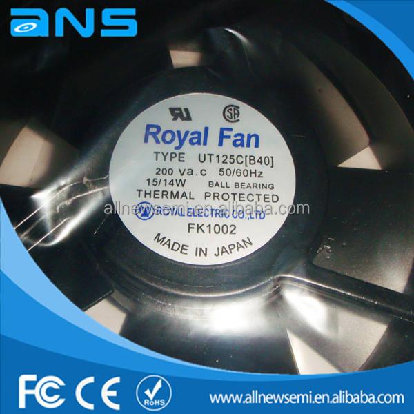 B40 Royal Fan UT125C All-metal high-temperature fan AC200V 15//14W 120*120*38MM