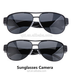 fast shipping 2015 wireless video hidden mini camera spy sunglasses
