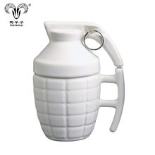 Hot Sales Novelty Grenad Shape Design Cup/ Military Fans Grenad Mug