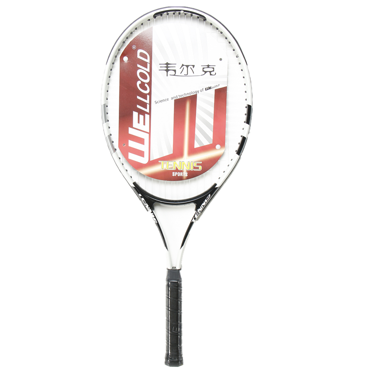 China manufacturer high intension aluminium head soft tennis racket