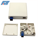Indoor 86 type faceplate optical splitter protect ftth terminal box mini customized fiber optic distribution box