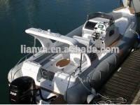 Liya 8.3m luxe yacht grand océan avec pont en teck