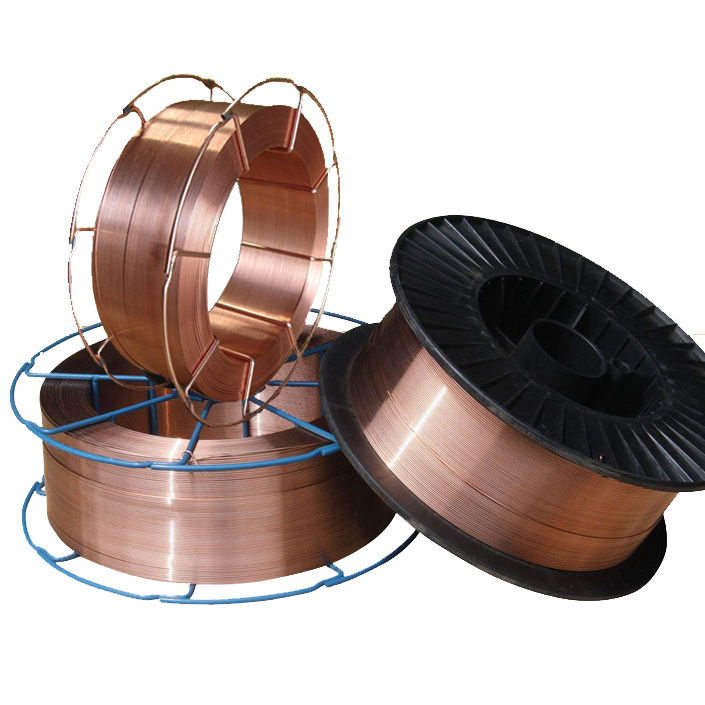 arame mig 0.6mm 0.8mm 1.0mm 1.2mm CO2 Copper Welding Wire er70s-6 sg2 imported from China