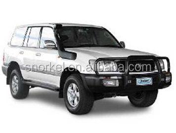 Toyota Land Cruiser 100 Series 1998-07 LX470 Raised Air Flow Intake Snorkel Kit