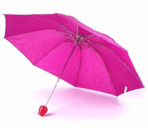 Professional factory price hot sale wholesale polyester red folding umbrella
