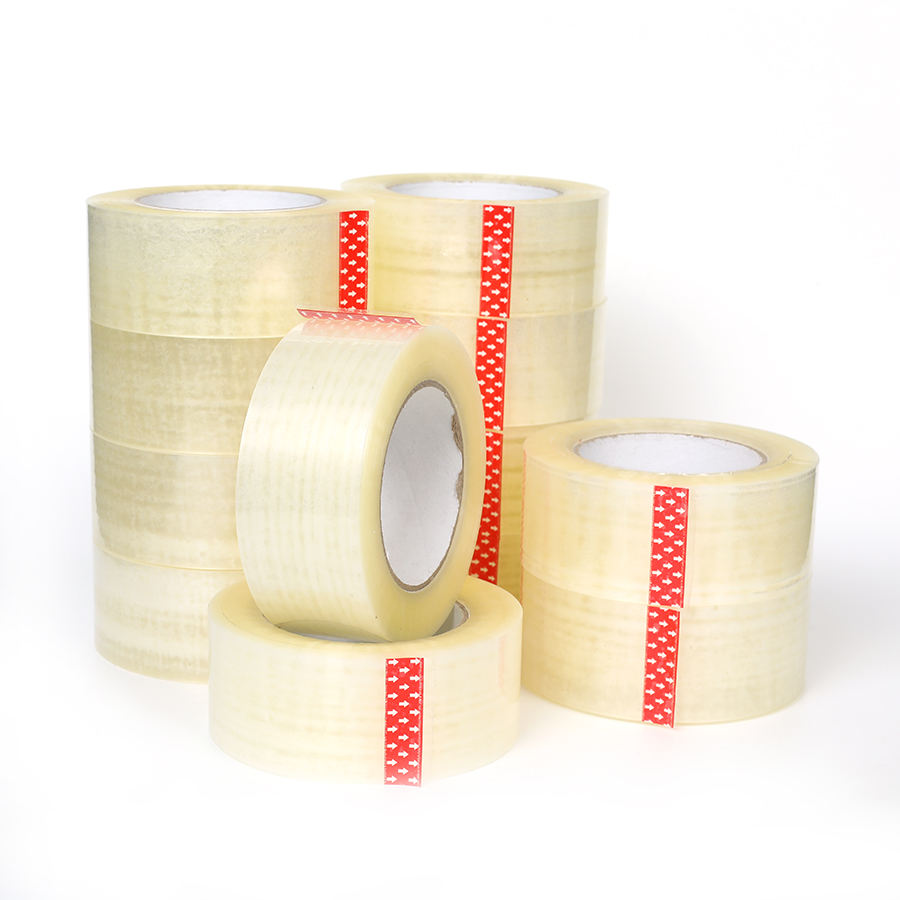 Personalized transparent self adhesive office application tape 72mm
