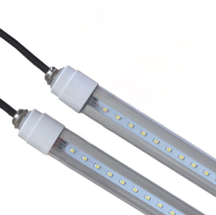 IP65 Waterproof T8 led tube for Cold Storage refrigerator cooler 18w 25w led freezer 2ft 3ft 4ft 5ft 5 years warranty