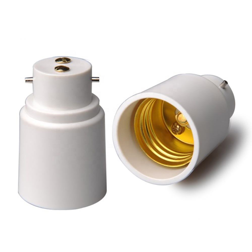B22 Om E27 Adapter Bajonet Licht Socket Adapter B22 Om Schroef Lamp Houder Converter Plug En Play